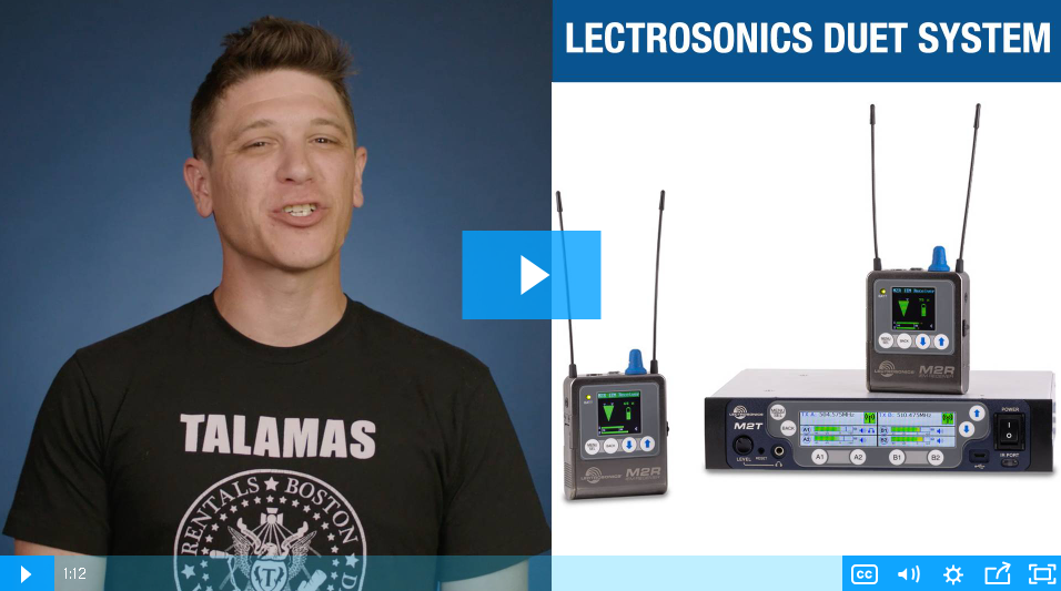 VIDEO: The Lectrosonics Duet The HD of In-Ear Monitoring