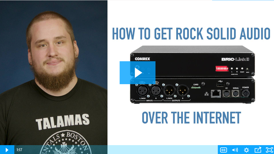 VIDEO: How to Get Rock Solid Audio Over the Internet with the Bric-Link II
