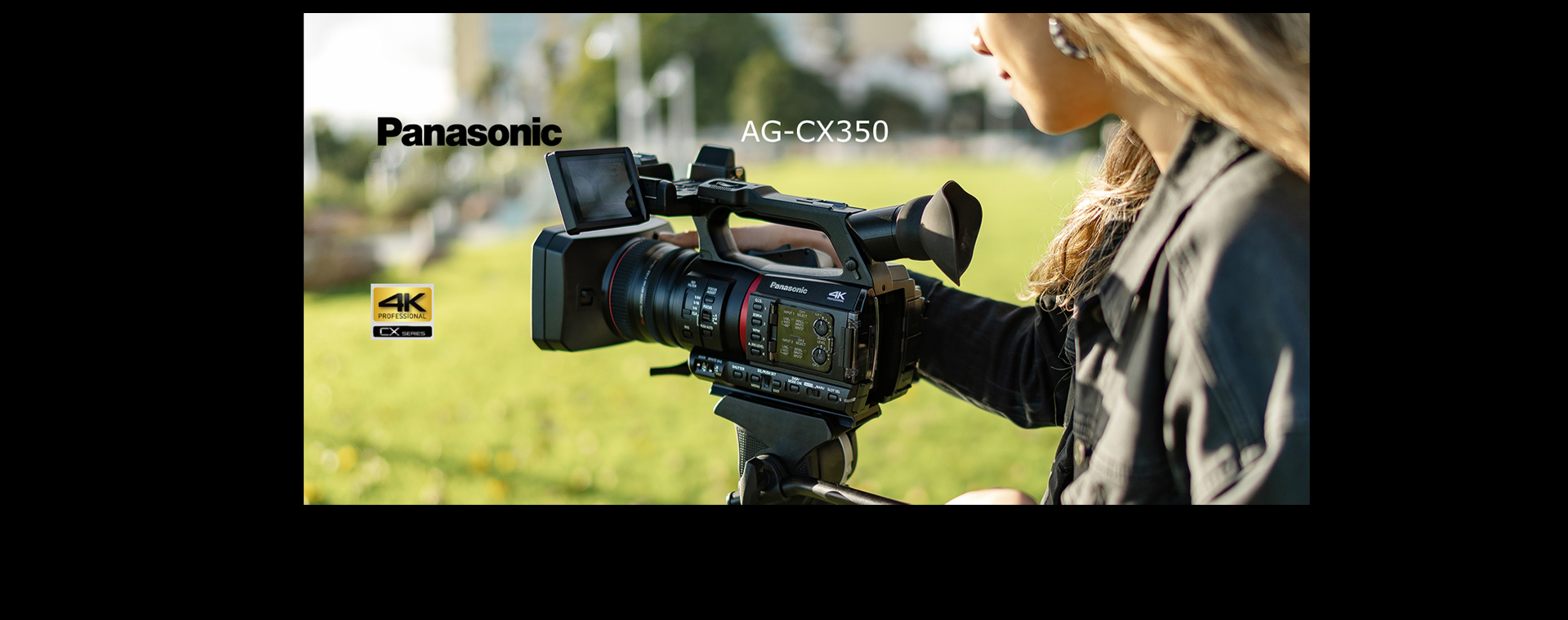 Panasonic AG-CX350 Professional 4K Camcorder