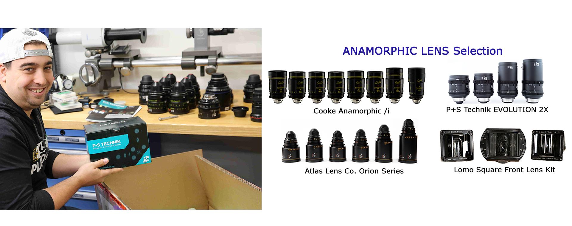 Talamas Anamorphic Lens Selection