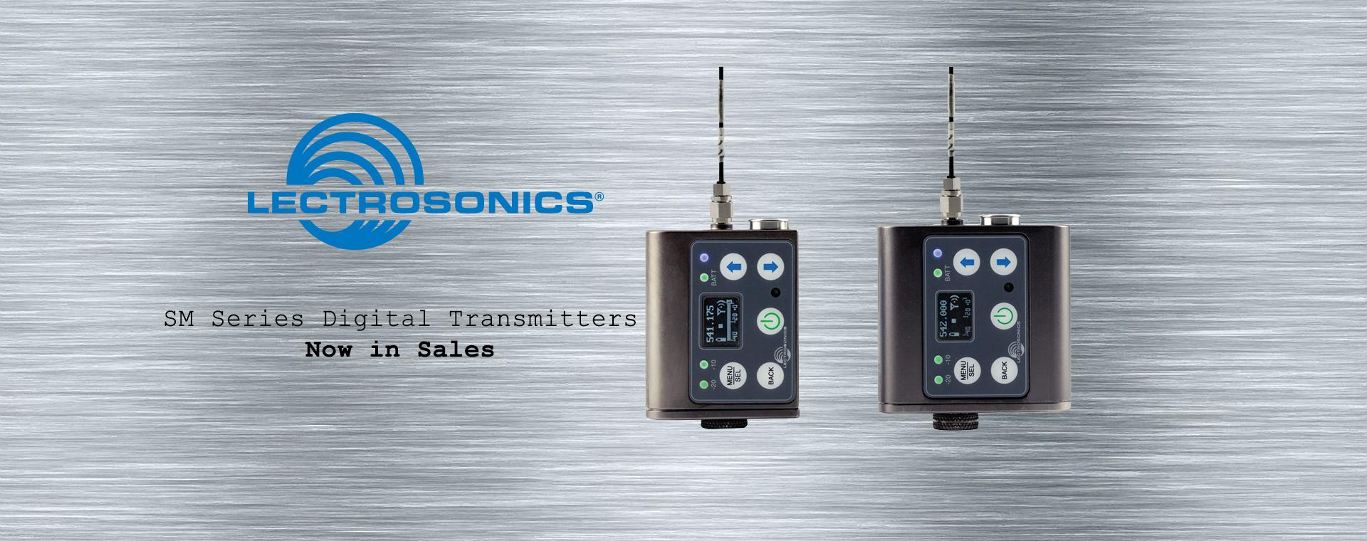 Lectrosonics SM Series Digital Transmitters