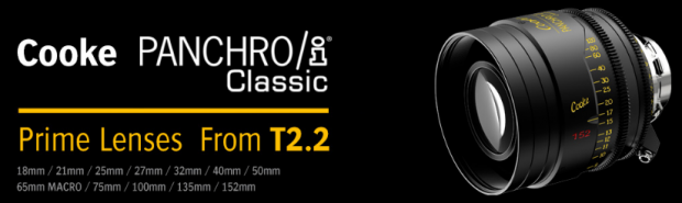 Eric Johnston Sales, ZGC Presents History of Cooke Lenses and New Panchro/i Classic Prime Lenses