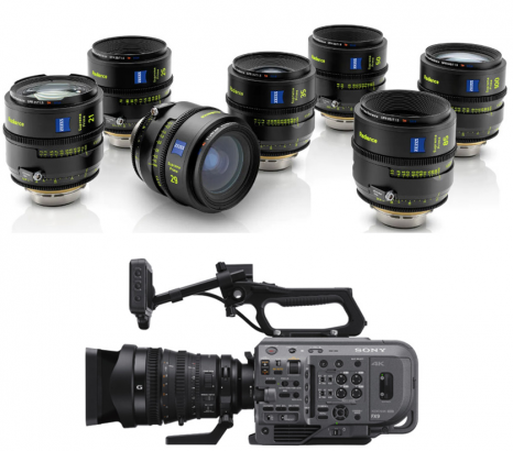 See the ZEISS Supreme Prime Radiance Lenses & the Sony PXW-FX9 at Talamas