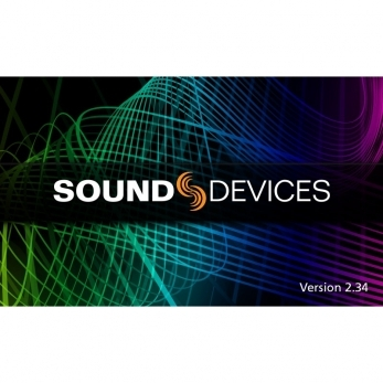 Sound Devices Firmware v2.34 Available for Download