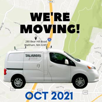 Talamas is Moving!