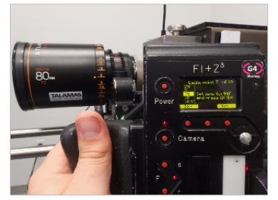 Lens Mapping on Preston HU3