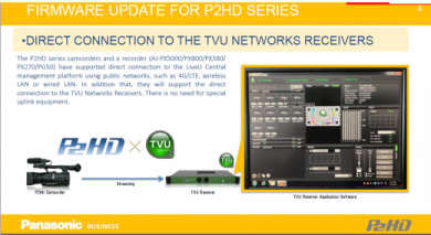 Panasonic New ENG Firmware Update for P2HD Release Oct 30th