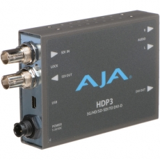 AJA HDP2 HD/SD-SDI to DVI-D Converter