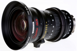 Angenieux Optimo 28-76mm T2.6 Zoom left view