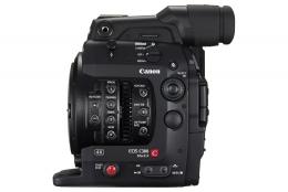 Canon C300 EF Mark II left front