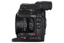 Canon C300 EF Mark II left front