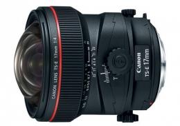 Canon TS-E 17mm Tilt Shift Lens