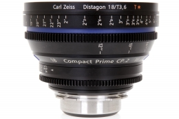 Zeiss 18mm T3.6 CP.2 Compact Prime Lens with PL Mount