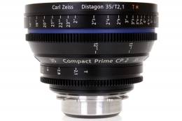 Zeiss 35mm T2.1 CP.2 Compact Prime Lens