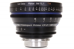 Zeiss 50mm T2.1 CP.2 Compact Prime Lens with PL Mount