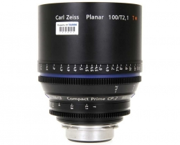 Zeiss 100mm T2.1 CP.2 Compact Prime Lens