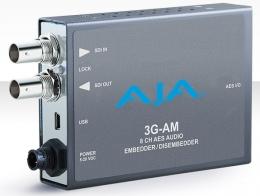 AJA 3G-AM 3G-SDI 8-Channel AES Embedder/Disembedder, XLR