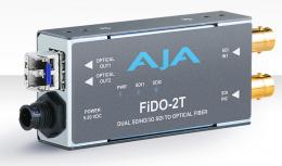 AJA FiDO-2T Dual-channel SD/HD/3G SDI to Optical Fiber