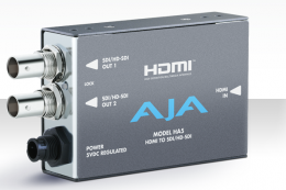 AJA HA5 HDMI to HD/SD SDI Mini Converter