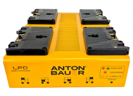 Anton Bauer 8475-0135. LPD Quad Gold Mount Discharger