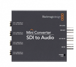 Blackmagic Design Mini Converter - SDI to Audio (PS Incl.)
