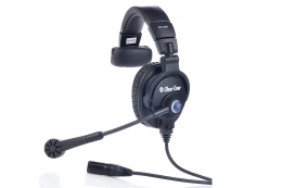 Clear-Com CC-300 Single-ear Headset with 4 pin female connector