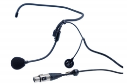 ClearCom CC-27, Single-ear wrap around  headset, A4F