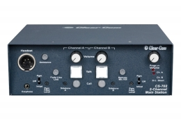Clear-Com CS-702 Two-Channel Portable Headset Main Station