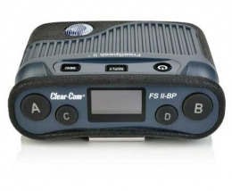 Clear-Com FreeSpeak 1.9 GHz  FSII Digital Wireless Beltpack