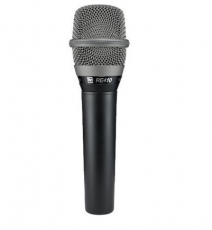 Electro-Voice 635AB Dynamic Omnidirectional Interview Mic, Black