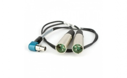 Lectrosonics MCSR/5PXLR2 Dual Channel Output Cable for SR Receivers