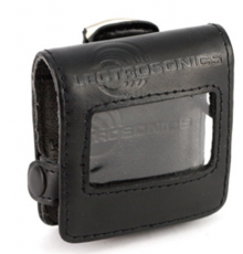 Leather pouch for SM dual-battery transmitters