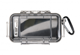 Pelican 1015 Micro Case Clear with Black Liner