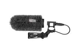 Rycote 18cm Large Hole Softie with Lyre Mount & Pistol Grip Hand