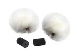 Rycote White Lavaliere Windjammers, Pair Of Two