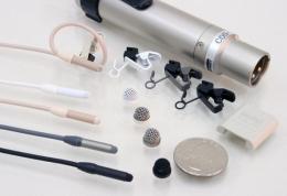 Sanken COS11-DBK, Omnidirectional Lavalier Microphone, 3 Pin XLR