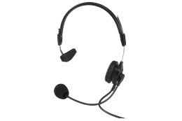 Telex PH-88R5 Light Weight Single Sided Headset with Flexible Dynamic Boom Mic, A5M Connector