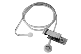 Telex ET-3 Straight Acoustic Eartube With Clothing Tip