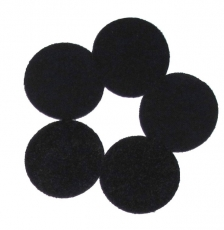 URSA Soft Circles Lav Mic Covers Black