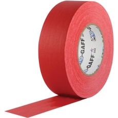"Professional Gaffer Tape, 2"" x 55 Yards, Red"