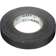 "Visual Departures Professional Gaffer Tape, 1"" x 55 Yards, Black"