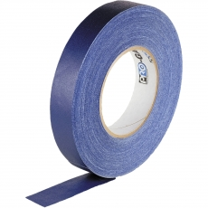 "Professional Gaffer Tape, 1"" x 55 Yards, Blue"