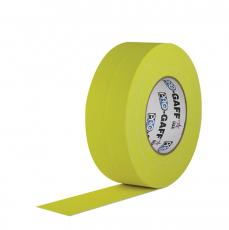 "Gaffer Tape, 2"" x 55 Yards, Yellow"