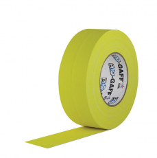 "Gaffer Tape, 2"" x 55 Yards, Yellow"