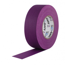 "Visual Departures Professional Gaffer Tape, 2"" x 55 Yards, Purple"
