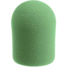 Windtech Studio 20/421 Series Large Foam Windscreen, Green