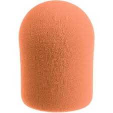 Windtech Studio 20/421 Series Large Foam Windscreen, Orange
