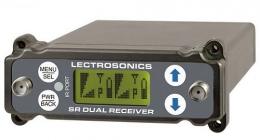 Lectrosonics SRc Block Camera Slot Dual UHF Receiver, 941-960 MHz