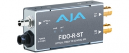 AJA FiDO-R-ST, Single-channel Optical Fiber (ST connector)
