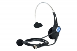 Clear-Com CC-26 Single Ear Lightweight Headset, A4F